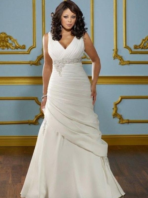 Busty wedding dress - blank canvas