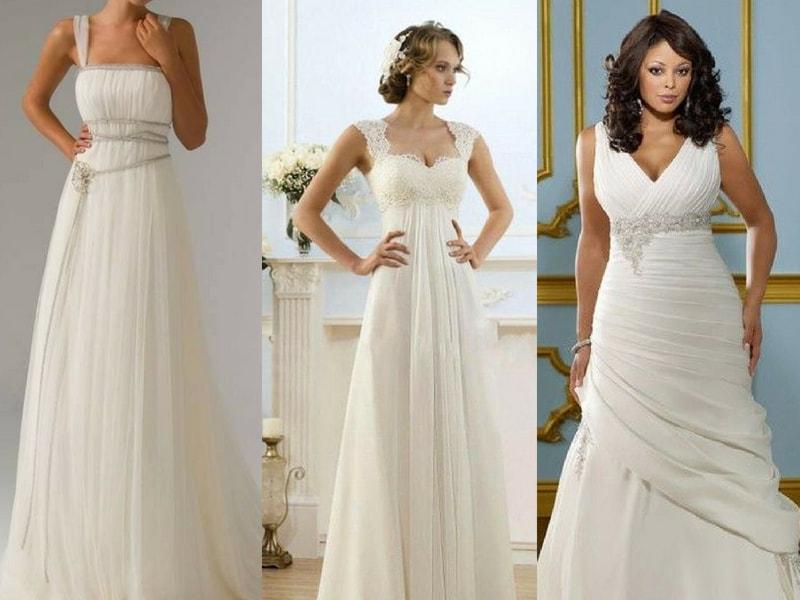 Empire Waist wedding dress - blank canvas