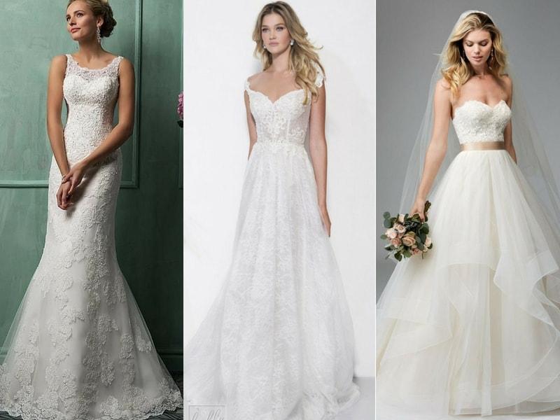 Natural Waist wedding dress - blank canvas