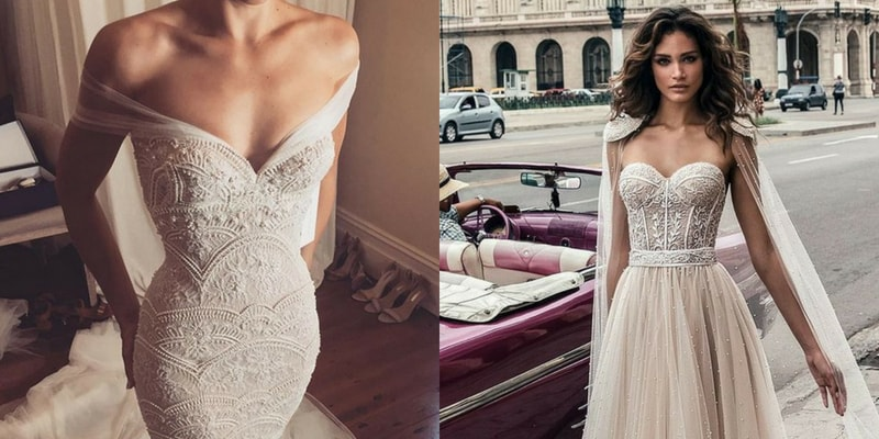 Sweetheart Neckline wedding dress - blank canvas