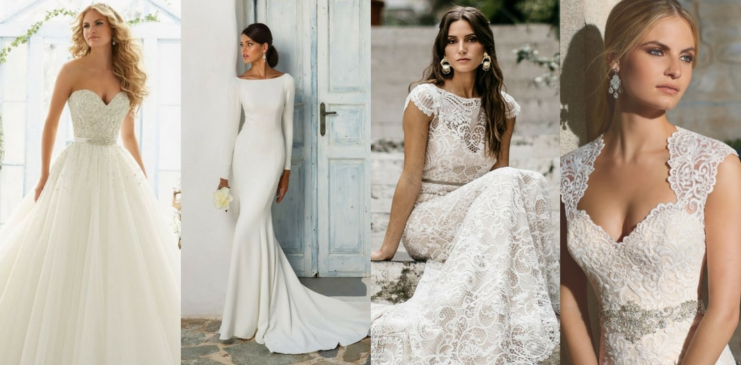 2f47da63bb Wedding Dress Styles: The Ultimate Guide For 2018 - Blank Canvas